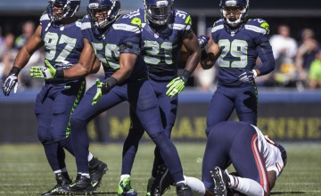 NFL ACTION:  CHICAGO BEARS AT SEATTLE SEAHAWKS