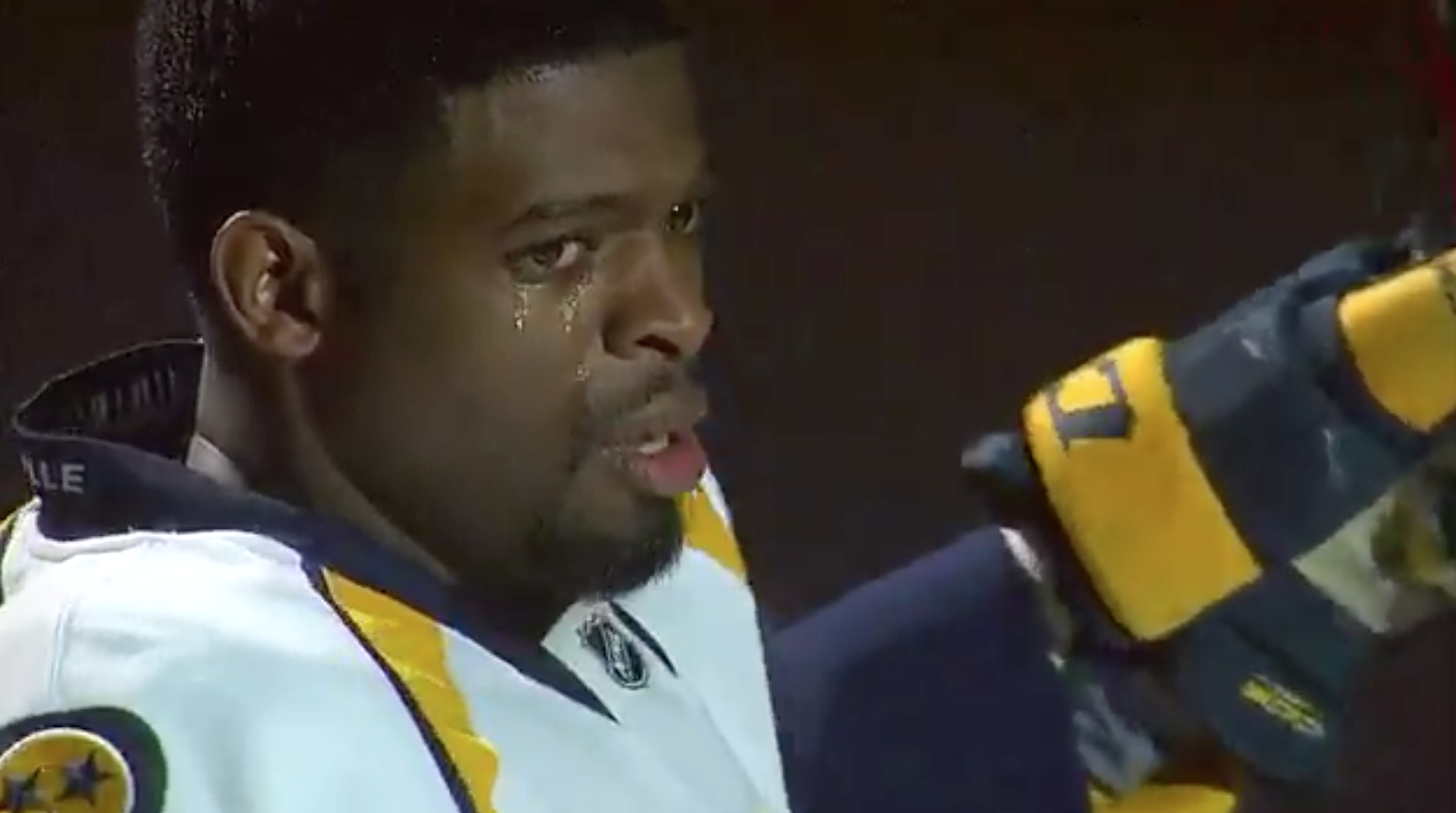 P.K. Subban tears up in Montreal return (VIDEO) - The ...